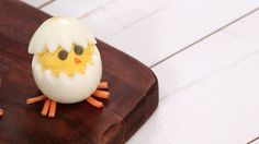 Deviled Egg Chicks: We've turned this iconic Southern appetizer into a party-perfect Easter dish.