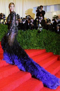 Beyonce in Givenchy, 2012   - HarpersBAZAAR.com