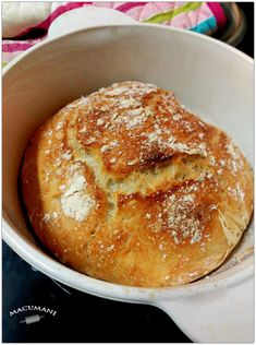 No knead bread; NYT recipe - from a Norwegian teacher in college - she would make her class baked goods on most Fridays. No Knead Bread, Pan Bread, Knead Bread Recipe, Bread Baking, Bread Recipes, Cooking Recipes, Norwegian Food, Norwegian Recipes, Scandinavian Food