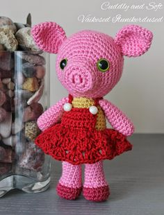 Little piggy for Julia Design: Triin, Cuddly and Soft - Väikesed Ilunikerdused