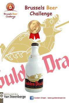 Estamos muy orgullosos de Gulden Draak vez hemos ganado una medalla de oro en la cerveza Desafío de Bruselas de 2013. Después de la medalla de oro en el Beer World Challenge 2013
