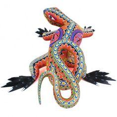 Bertha Cruz: Zapotec Lizard