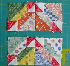 Seven-Stitches: Gretchen Block Instructions