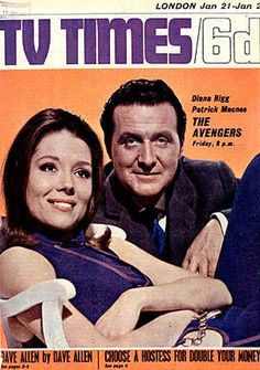 'THE AVENGERS' (1960s TV series): Diana Rigg and Patrick Macnee