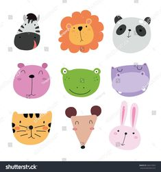 Find Animals character design stock vectors and royalty free photos in HD. Explore millions of stock photos, images, illustrations, and vectors in the Shutterstock creative collection. Illustration Mignonne, Cute Illustration, Fantasy Illustration, Digital Illustration, Icon Collection, Animal Crafts, Pattern Art, Cute Cartoon, Pet Birds