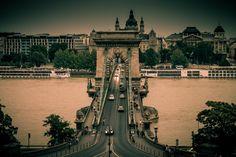 Chainbridge by Nagy Daniel on Tower Bridge, Budapest, Country, World, Places, Photos, Travel, Beautiful, Viajes
