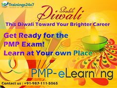 This Diwali Get PMP Elearning Package Starter $69 and medium $80 http://trainings24x7.com/online-pmp-cert-course/