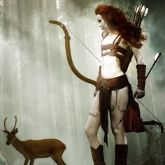 Artemis was the daughter of Zeus and Leto , and the twin sister of Apollo . She was the goddess of wild animals, the hunt, vegetation, . Artemis Goddess, Goddess Art, Divine Goddess, Goddess Tattoo, Ranger, Daughter Of Zeus, Steampunk, Greek Gods, Gods And Goddesses