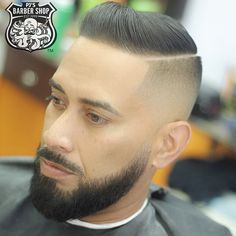 Combover fade