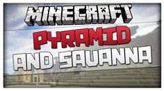 Minecraft 1.8.1 Seed - Desert Pyramid + Savanna at spawn! Works on 1.8 a...