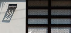 Image 36 of 37 from gallery of / Chon. Contemporary Architecture, Architecture Design, Home Design, Signage Design, My House, Blinds, Pattern Design, Floor Plans, How To Plan