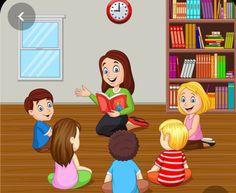 Art Classroom Management, Classroom Rules, Classroom Decor, Teacher Picture, Teacher Images, Picture Comprehension, Teacher Cartoon, Picture Composition, School Frame