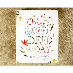 Good Deed A Day Journal