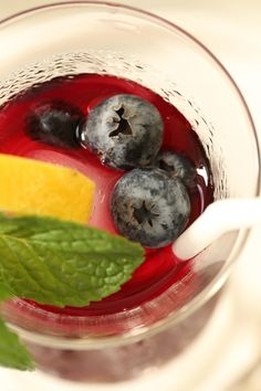 This iced Antioxidant Rich Blueberry Green Tea is light and refreshing and loaded with antioxidants that'll give your immune system a nice boost. The green tea is infused with blueberries and lightly sweetened with honey. This blueberry iced tea is perfect for summer!!!