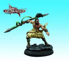 Lancer | HD6003 | Hell Dorado | Arcane Miniatures