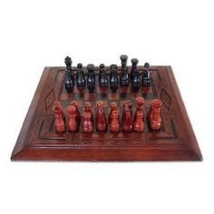 Chess set, 'Ananse Agror'