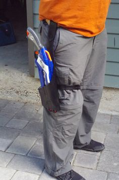 Tactical Holster NERF Rough Cut Gun Holster by LeatherStorm
