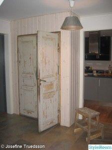 Projekt hall, garderob