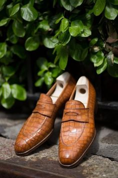Men,s Handmade Leather Shoes Formal Crocodile Texture Leather Men Tan Brown Shoe - Dress/Formal Tan Brown Shoes, Black Shoes, Best Shoes For Men, Men S Shoes, Handmade Leather Shoes, Leather Men, Soft Leather, Rolex, Gentleman Shoes