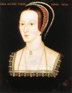 Portrait of Anna Boleyn, by unknown English master, 1530-36, National Portrait Gallery, London.
