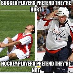 funniest memes | Funny memes - [Soccer players pretend they're hurt] - FunnyMemes.com