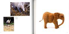 Make Животные иглопробивной Wool Японская Ковка книгу от pomadour24