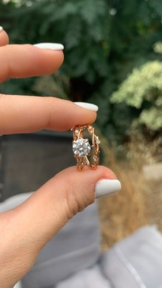Carat White Gold Antique/Vintage Bezel Set Designer Princess Cut Diamond Engagement Ring With Milgrain Ct H Color Clarity Center Stone) – Fine Jewelry & Collectibles Cute Rings, Pretty Rings, Unique Rings, Beautiful Rings, Unusual Wedding Rings, Bold Rings, Wedding Simple, Beautiful Pictures, Matching Wedding Rings
