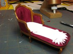 Dollhouse Miniature Furniture - Tutorials   1 inch minis AN AMAZING ARTIST SHARING FANTASTIC, DETAILED TUTORIALS