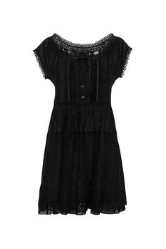 Marc Jacobs solid cotton Voile Broderie Anglaise dress, $560.