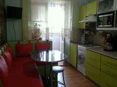 Кухня зеленых цветов, фото.