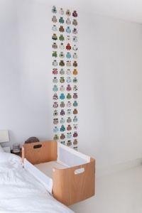 Met één strook behang de babykamer of kinderkamer opfleuren nursery ...