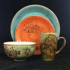 """Das Keramik Geschirr der Serie """"Craft"""" von Steelite ist ein Traum. Leider ist es nur für Gastronomen vorgesehen, doch es kann auch einzeln bestellt werden."""