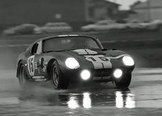 Bob Bondurant / Jo Schlesser.Shelby Cobra Daytona Coupe.Sebring 1965. via jacqalan