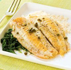 Low sodium honey mustard fish - recipe
