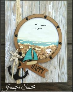 Lovin me some NO WORRIES! #createbyjennifer #ctmh #noworries #beach #sand #cardmaking #barnwood