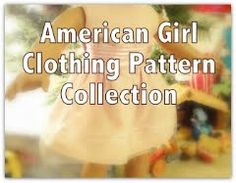 "Lots of FREE American Girl Doll / 18"" Doll Clothing Patterns"