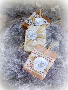 handmade 100 wedding favor soap,bridal shower,romantic,shabby style