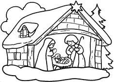 Resultado de imagen para imagenes para pintar de navidad
