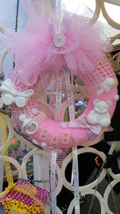 Fiocco nascite  baby...by ilcassettodeisogni http://m.facebook.com/Il-Cassetto-dei-Sogni-1890162974542736/