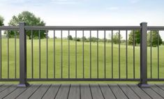 Optima Aluminum Deck Railing - Pre-Assembled Deck Panels for Fast and Easy Installation is avalible at the Deck Store located in Simpsonville, SC.