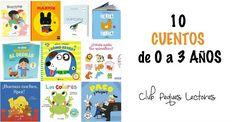 las diez mejores novedades editoriales para niños de 0 a 3 años de edad, cuentos infantiles ideales para regalar estas navidades. Fomentar la lectura.