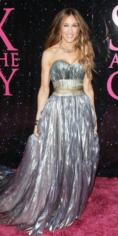 Sarah Jessica Parker's 25 Most Memorable Looks Ever - Nina Ricci, 2008 from #InStyle