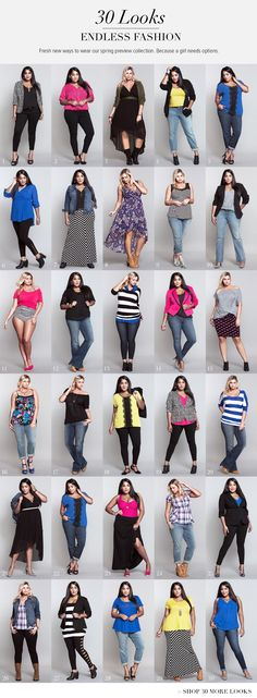 30 Days of Fashion II | Look Books | Torrid