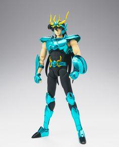 Nueva figura del Dragon Shiryu versión Myth Cloth EX