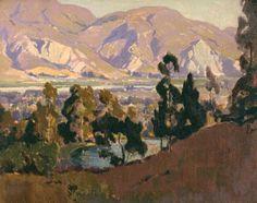 Marion Kavanaugh Wachtel. Southern California Landscape.