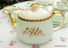 Vintage Minton Somerset Complete Tea Set 12 place settings in pristine condition to buy