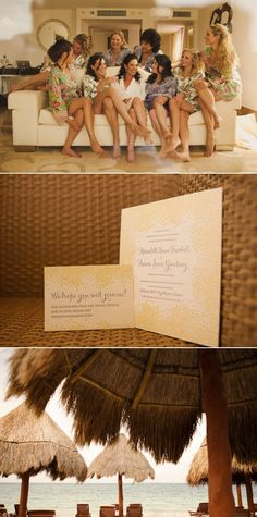 Our Joie de Vivre set the perfect tone for this destination wedding at the Beloved Hotel in Playa Mujeres, Mexico