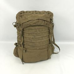 36841665bc Fair USMC FILBE Main Pack Only Ruck sack Duffel ILBE Replacement Coyote  Brown