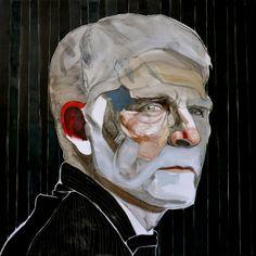 R.B. Kitaj - http://redarte.com.ar/2013/12/r-b-kitaj/ #RedArte #Art #Arte #Pintura