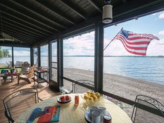 Snapshots of Island Life - Old-House Online Summer Cabins, House Journal, Lake Champlain, Beach Cottages, Island Life, Best Memories, Vermont, Patio, Outdoor Decor